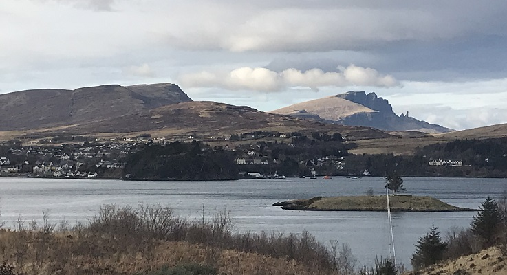A view of Portree